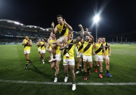 AFL 2020 First Preliminary Final - Port Adelaide v Richmond