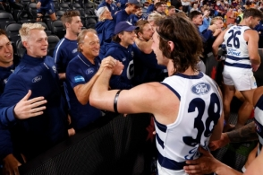 AFL 2020 Second Preliminary Final - Brisbane v Geelong