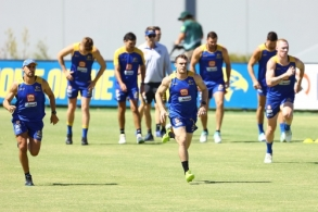 AFL 2020 Training - West Coast 141220