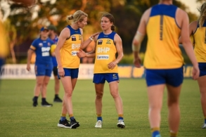 AFLW 2020 Training - West Coast 161220