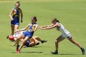 AFLW 2021 Training - West Coast v Fremantle Practice Match