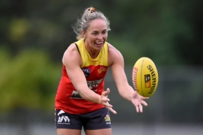 AFLW 2021 Training - Gold Coast 200121