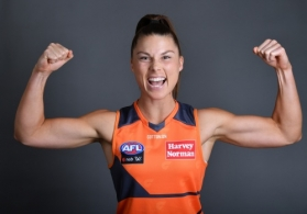 AFLW 2021 Portraits - GWS Giants