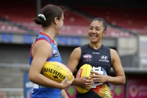 AFLW 2021 Media - Pride Round Launch