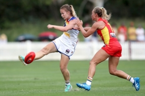 AFLW 2021 Round 02 - Brisbane v Gold Coast