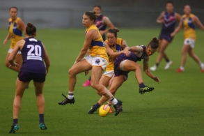 AFLW 2021 Round 02 - Fremantle v West Coast