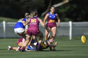 AFLW 2021 Round 03 - Brisbane v West Coast