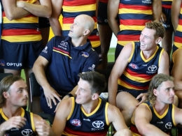 AFL 2021 Media - Adelaide Team Photo Day