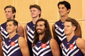 AFL 2021 Media - Fremantle Team Photo Day
