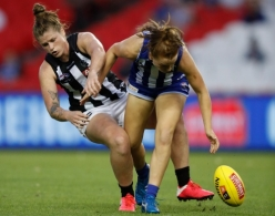 AFLW 2021 Round 04 - North Melbourne v Collingwood