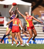 AFLW 2021 Round 04 - Fremantle v Gold Coast