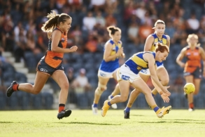 AFLW 2021 Round 04 - GWS v West Coast