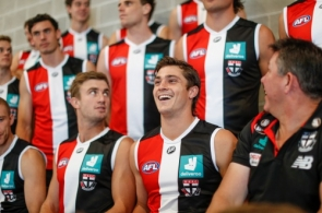 AFL 2021 Media - St Kilda Team Photo Day