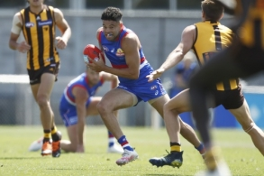 AFL 2021 Training - Western Bulldogs v Hawthorn Practice Match