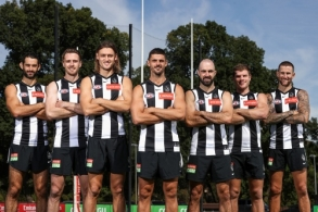 AFL 2021 Media - Collingwood Leadership Group Announcement