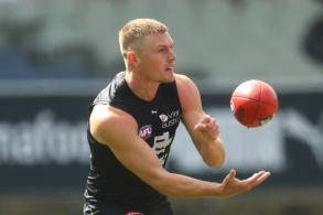 AFL 2021 Training - Carlton v Essendon Practice Match