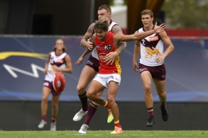 AFL 2021 Training - Gold Coast v Brisbane Practice Match