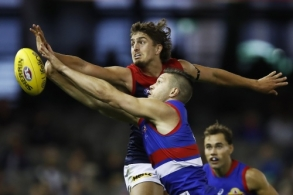 AFL 2021 AAMI Community Series - Western Bulldogs v Melbourne