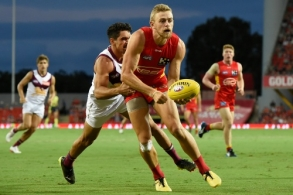 AFL 2021 AAMI Community Series - Gold Coast v Brisbane