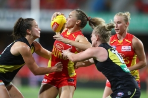 AFLW 2021 Round 07 - Gold Coast v Richmond