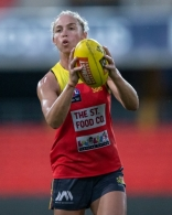 AFLW 2021 Training - Gold Coast 170321
