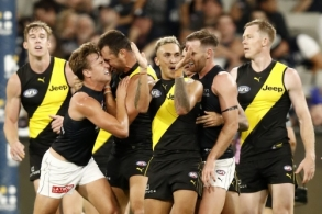 AFL 2021 Round 01 - Richmond v Carlton