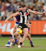 AFL 2021 Round 01 - Collingwood v Western Bulldogs