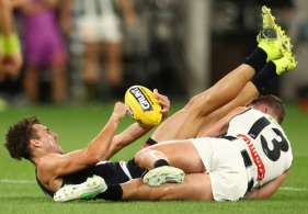 AFL 2021 Round 02 - Carlton v Collingwood