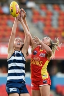 AFLW 2021 Round 09 - Gold Coast v Geelong