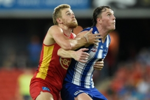 AFL 2021 Round 02 - Gold Coast v North Melbourne