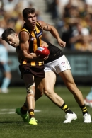 AFL 2021 Round 02 - Hawthorn v Richmond