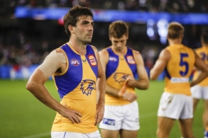 AFL 2021 Round 02 - Western Bulldogs v West Coast