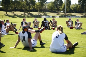 AFLW U19 Training - Vic Country 010421
