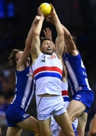 AFL 2021 Round 03 - North Melbourne v Western Bulldogs
