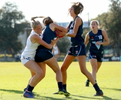AFLW 2021 U17 Challenge - Vic Country v Vic Metro