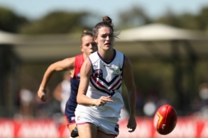 AFLW 2021 Qualifying Final B - Melbourne v Fremantle