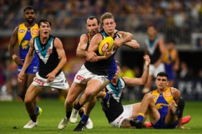 AFL 2021 Round 03 - West Coast v Port Adelaide
