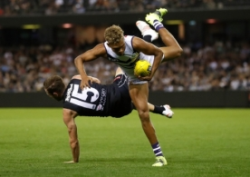 AFL 2021 Round 03 - Carlton v Fremantle