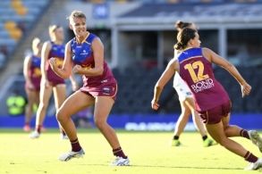 AFLW 2021 Second Preliminary Final - Brisbane v Collingwood