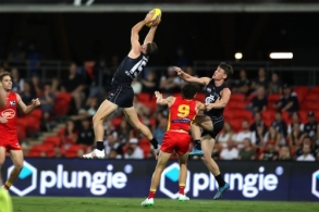 AFL 2021 Round 04 - Gold Coast v Carlton