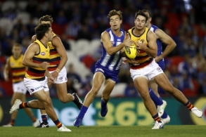 AFL 2021 Round 04 - North Melbourne v Adelaide