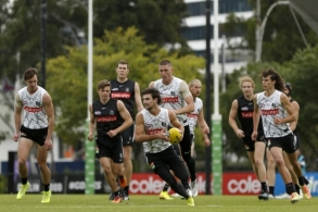 AFL 2021 Training - Collingwood 130421