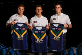 AFL 2021 Media - NAB AFL Academy Jumper Presentation