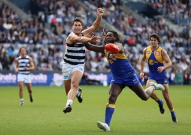 AFL 2021 Round 06 - Geelong v West Coast