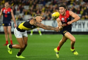 AFL 2021 Round 06 - Melbourne v Richmond