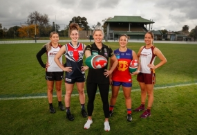 AFL 2021 Media - AFL and Bunnings Helping Hand Announcement