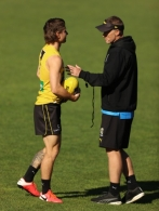 AFL 2021 Training - Richmond 280421