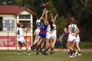 NAB League Girls 2021 - Oakleigh Chargers v Calder Cannons