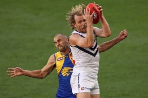 AFL 2021 Round 07 - West Coast v Fremantle