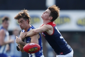 AFL 2021 Round 07 - North Melbourne v Melbourne